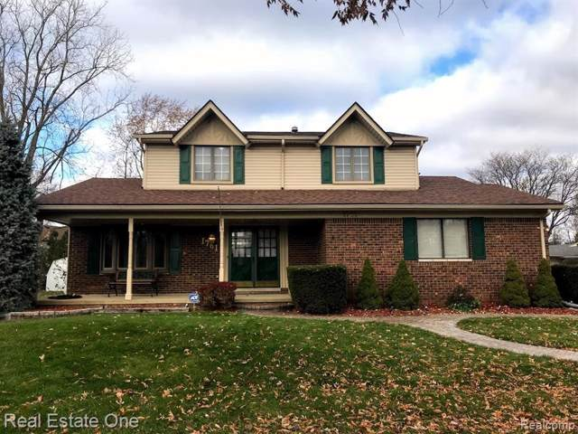 1761 Crestline Dr, Troy, MI 48083 (MLS #219114746) :: The Tom Lipinski Team at Keller Williams Lakeside Market Center