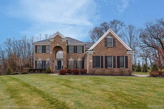 9491 Scenic Dr, Brighton, MI 48114 (MLS #219122193) :: The John Wentworth Group