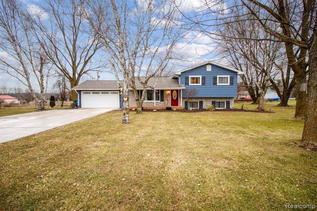 5166 Ray Rd, Linden, MI 48451 (MLS #2200003370) :: The John Wentworth Group