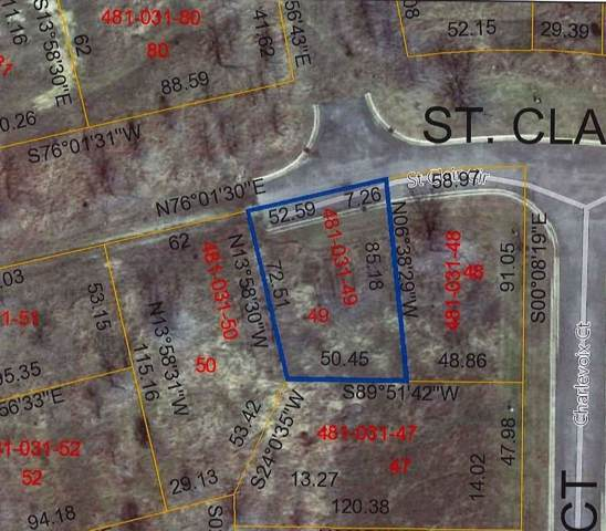 0 St. Clair Lot B, Brooklyn, MI 49230 (MLS #3270688) :: The Tom Lipinski Team at Keller Williams Lakeside Market Center