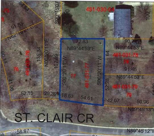 0 St. Clair Lot A, Brooklyn, MI 49230 (MLS #3270685) :: The Tom Lipinski Team at Keller Williams Lakeside Market Center