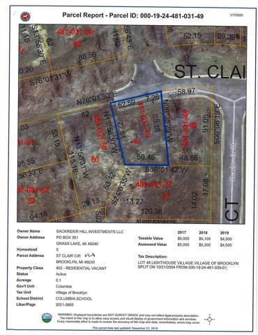 St Clair St 0,Lot B, Update, MI 49230 (MLS #202000146) :: The Tom Lipinski Team at Keller Williams Lakeside Market Center