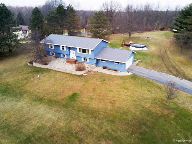 9553 S State Rd, Goodrich, MI 48438 (MLS #2200006021) :: The John Wentworth Group