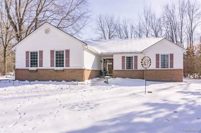 5071 Edward James Dr, Howell, MI 48843 (MLS #2200005481) :: The John Wentworth Group