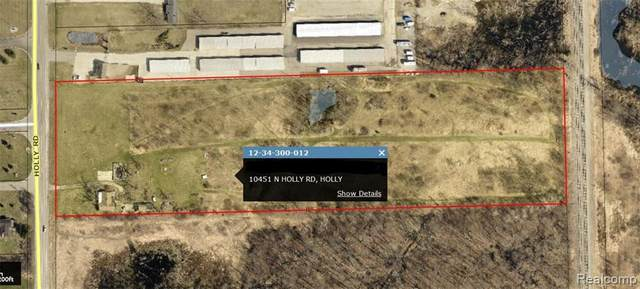 10451 N Holly Rd, Holly, MI 48442 (MLS #2200011269) :: The John Wentworth Group