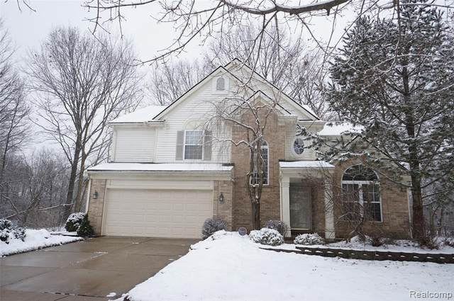 42889 Stratford Dr, Van Buren Twp, MI 48111 (MLS #2200011763) :: The John Wentworth Group