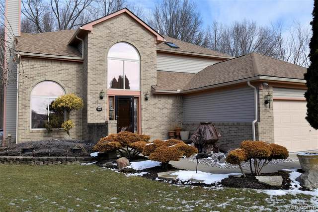 44862 Sondra Dr, Van Buren Twp, MI 48111 (MLS #2200012463) :: The John Wentworth Group