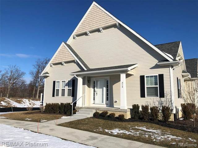 314 Dorchester Dr, Howell, MI 48855 (MLS #2200013675) :: The John Wentworth Group