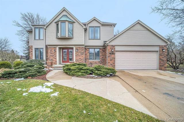 3659 Worthington Crt, Rochester Hills, MI 48309 (MLS #2200024102) :: The Tom Lipinski Team at Keller Williams Lakeside Market Center
