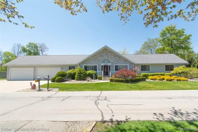 3434 Erie Shore Dr, Monroe, MI 48162 (MLS #2200031937) :: The Tom Lipinski Team at Keller Williams Lakeside Market Center