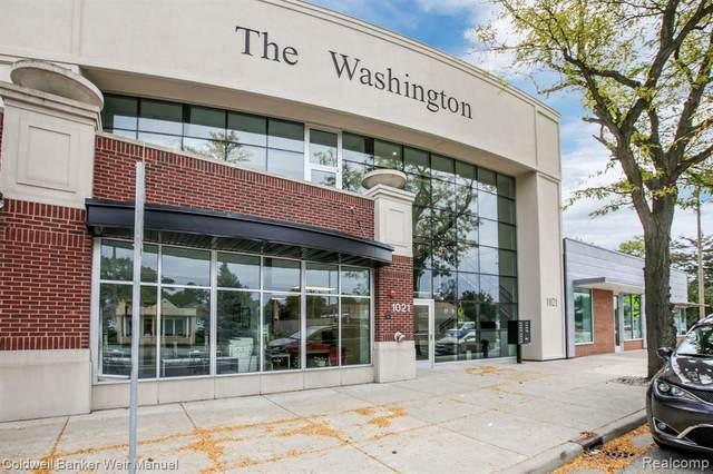 1021 S Washington Ave Unit C, Royal Oak, MI 48067 (MLS #2200032144) :: The Tom Lipinski Team at Keller Williams Lakeside Market Center