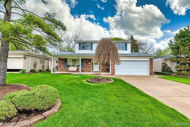 35502 Young Dr, Clinton Township, MI 48035 (MLS #2200034528) :: The Tom Lipinski Team at Keller Williams Lakeside Market Center