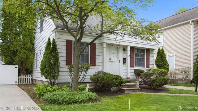 479 Bird Ave, Birmingham, MI 48009 (MLS #2200037626) :: The Tom Lipinski Team at Keller Williams Lakeside Market Center
