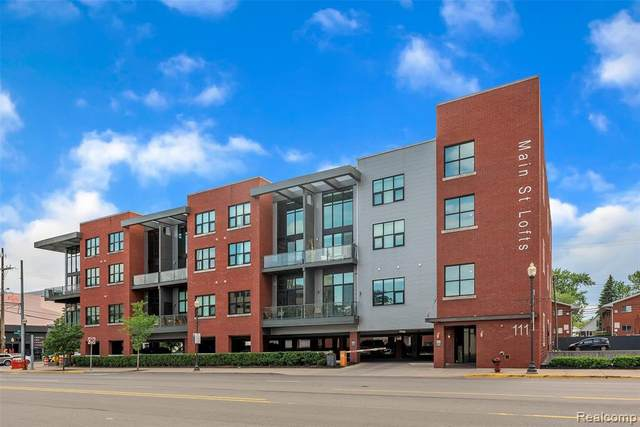 111 N Main St Unit#307, Royal Oak, MI 48067 (MLS #2200036287) :: The Tom Lipinski Team at Keller Williams Lakeside Market Center