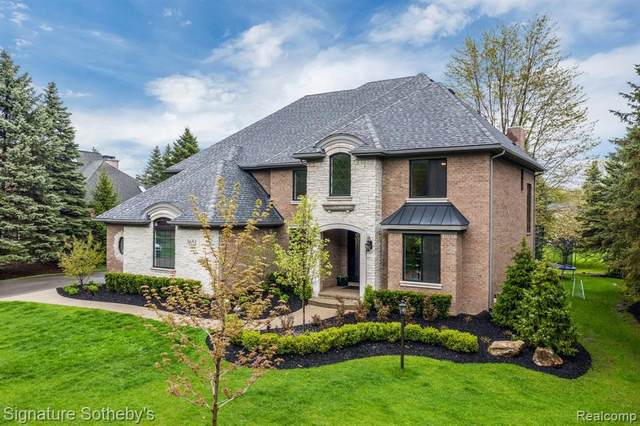 3651 Walnut Brook Dr, Rochester Hills, MI 48309 (MLS #2200038178) :: The Tom Lipinski Team at Keller Williams Lakeside Market Center