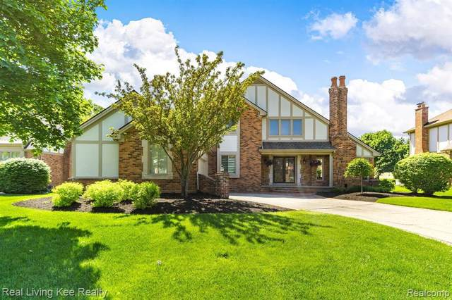 1730 Jason Cir, Rochester Hills, MI 48306 (MLS #2200040217) :: The Tom Lipinski Team at Keller Williams Lakeside Market Center