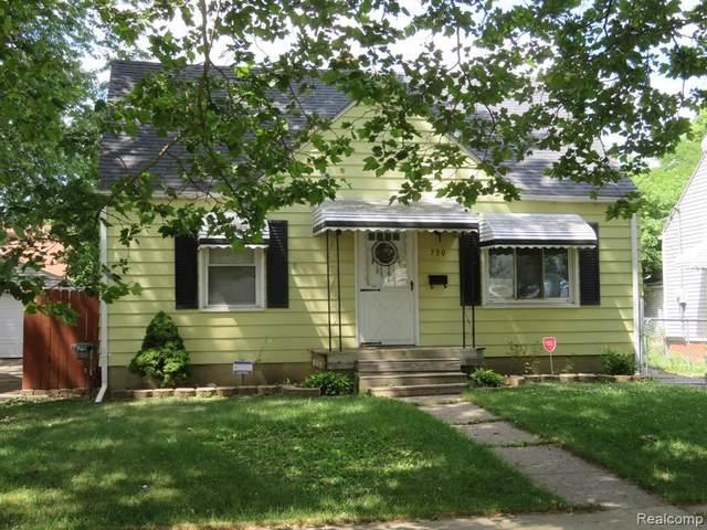 730 Huron St, Flint, MI 48507 (MLS #2200051045) :: Scot Brothers Real Estate