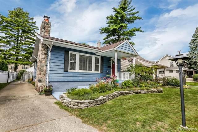 2013 N Wilson Ave, Royal Oak, MI 48073 (MLS #2200061387) :: Scot Brothers Real Estate