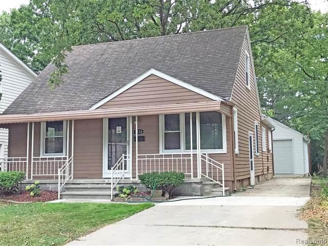 3134 Harvard Rd, Royal Oak, MI 48073 (MLS #2200061818) :: Scot Brothers Real Estate