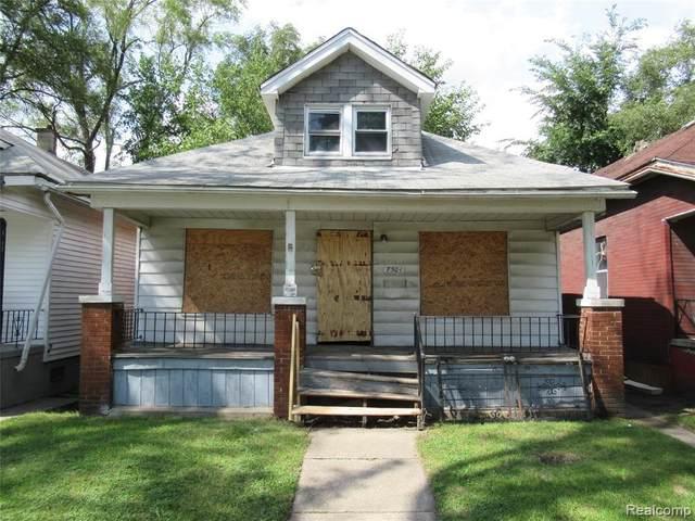 7501 Buhr St, Detroit, MI 48212 (MLS #2200061960) :: Scot Brothers Real Estate