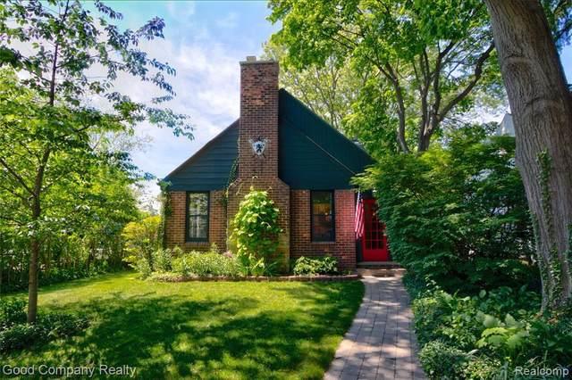 1501 N Blair Ave, Royal Oak, MI 48067 (MLS #2200062003) :: Scot Brothers Real Estate