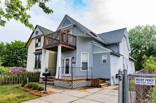 1033 Sheridan St, Detroit, MI 48214 (MLS #2200062052) :: Scot Brothers Real Estate