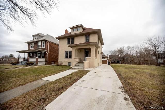 902 Atkinson St, Detroit, MI 48202 (MLS #2200062086) :: Scot Brothers Real Estate