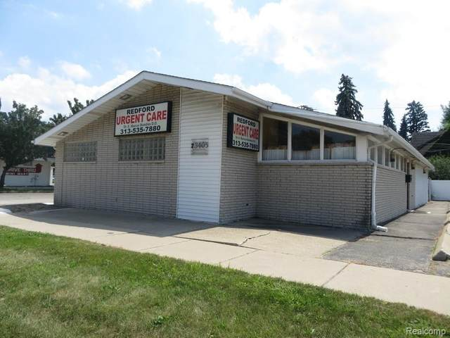 23405 Plymouth Rd, Redford, MI 48239 (MLS #2200065236) :: The BRAND Real Estate