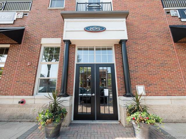 855 Penniman Ave Unit#303, Plymouth, MI 48170 (MLS #2200078221) :: Scot Brothers Real Estate