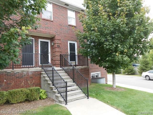 43141 Burlington Dr Unit#144, Sterling Heights, MI 48313 (MLS #2200077603) :: Scot Brothers Real Estate