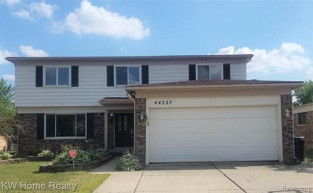 44227 Duchess Dr, Canton, MI 48187 (MLS #2200079924) :: Scot Brothers Real Estate