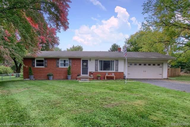 91 Westdale Dr Dr, Howell, MI 48843 (MLS #2200083626) :: Scot Brothers Real Estate