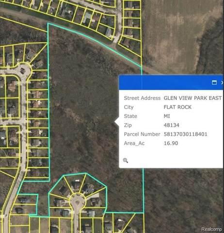 0000 Woodruff, Flat Rock, MI 48134 (MLS #2200095126) :: The BRAND Real Estate