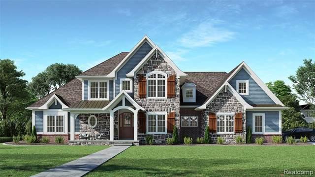 18199 Shelley Pond Crt, Northville, MI 48168 (MLS #2200101421) :: The BRAND Real Estate
