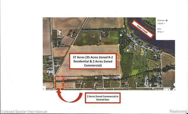 00000 Swan Creek Rd, Newport, MI 48166 (MLS #2210000961) :: The BRAND Real Estate