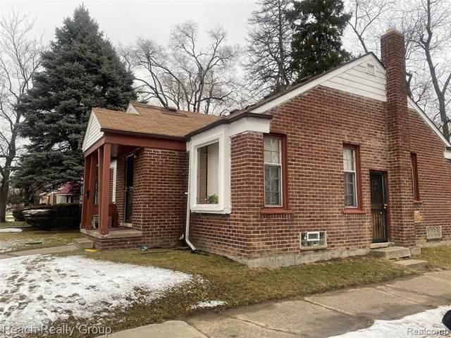 18900 Ashton Ave, Detroit, MI 48219 (MLS #2210001820) :: The BRAND Real Estate