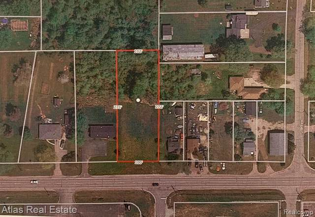 0 Lapeer Rd, Burton, MI 48509 (MLS #2210003132) :: The BRAND Real Estate