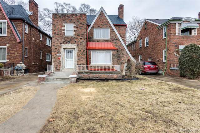 17384 Indiana St, Detroit, MI 48221 (MLS #2210003548) :: The BRAND Real Estate