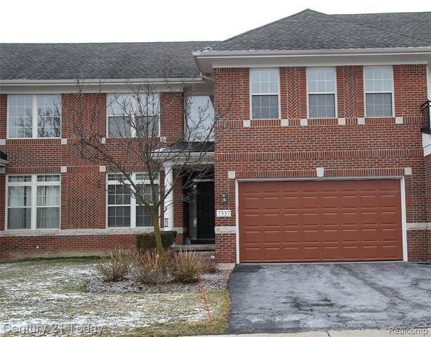 7337 Gateway Dr, West Bloomfield, MI 48322 (MLS #2210004256) :: The BRAND Real Estate
