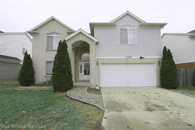 38590 Rougewood Dr, Sterling Heights, MI 48312 (MLS #2210004895) :: The BRAND Real Estate
