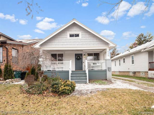 528 S Kenwood Ave, Royal Oak, MI 48067 (MLS #2210005053) :: The BRAND Real Estate