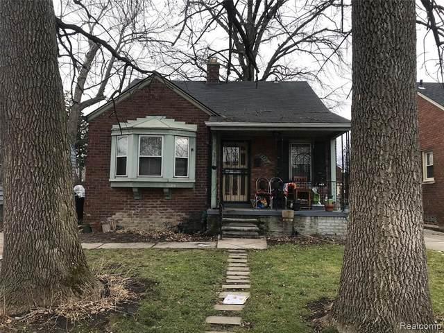 6375 Radnor St, Detroit, MI 48224 (MLS #2210005101) :: The BRAND Real Estate