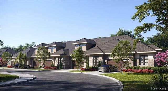 TBD Gramercy Cir Unit#1-Bldg#1, West Bloomfield, MI 48322 (MLS #2210005104) :: The BRAND Real Estate