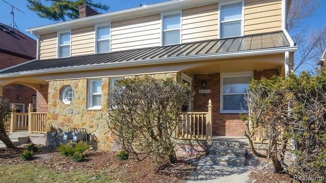 20201 Stratford Rd, Detroit, MI 48221 (MLS #2210005111) :: The BRAND Real Estate