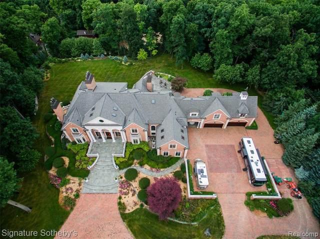 590 Dubuar St, Northville, MI 48167 (MLS #2210005635) :: The BRAND Real Estate