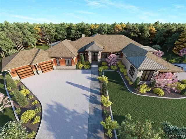 43534 Six Mile Rd, Northville, MI 48168 (MLS #2210007402) :: The BRAND Real Estate