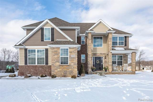 2545 Walnut View Dr, Howell, MI 48855 (MLS #2210007749) :: The BRAND Real Estate