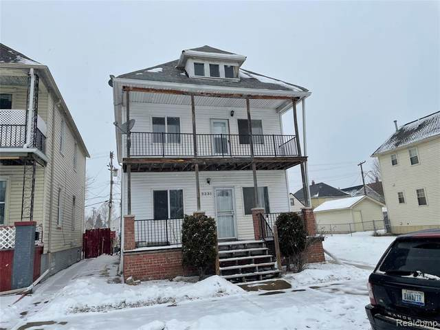 2231 Andrus St St, Hamtramck, MI 48212 (MLS #2210009772) :: The BRAND Real Estate