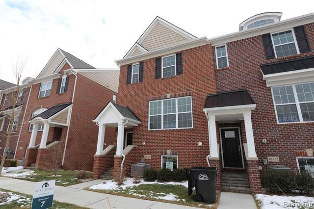 47749 Alden Terrace North, Northville, MI 48168 (MLS #2210009791) :: The BRAND Real Estate