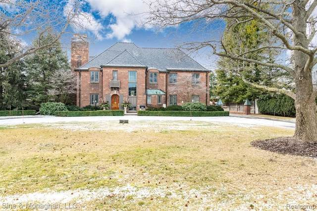 53 Oxford Road, Grosse Pointe Shores, MI 48236 (MLS #2210010071) :: The BRAND Real Estate